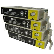 4 CiberDirect T1291 Ink Cartridges to fit Epson Printers - UK VAT Invoice