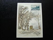 FRANCE - carte 8/3/1952 journee du timbre aix-les-bains  (cy6)