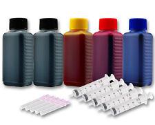 500ml Drucker Tinte Nachfüllset für HP Photosmart B410 B410a B8550 B8553 B8558