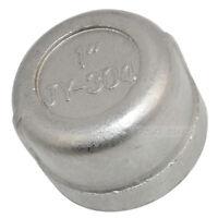 """1"""" Cap Female Stainless Steel SS304 Threaded Pipe Fitting NPT INNER"""