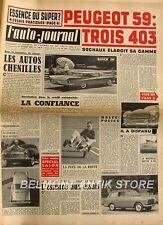 L'Auto-journal n°208 - Dauphine Floride - ID 19 Commerciale - Zermatt - Ariane