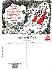 1992 RED ROSE POSTCARD FAIRS PRESTON LANCASHIRE MINT POSTCARD