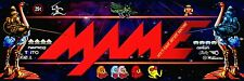 Mame Arcade Marquee For Reproduction Midway Bally Header/Backlit Sign