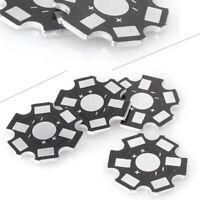 20MM 1W 3W 5W High Power LED Universal Aluminum Base Plate Heat Sink Kit 20PCS
