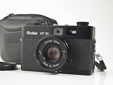 Rollei XF 35 - 35mm Rangefinder - Sonnar 2.3 / 40mm - tested - mint-