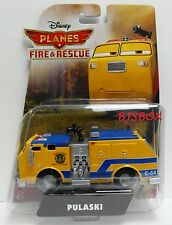 Disney Planes Fire & Rescue Pulaski Forest Fire Pumper Truck Rare New Toy