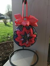 Floral Quilted Ornament