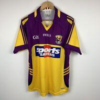 Loch Garman Mens Gaelic Football Jersey Size Large Made In Ireland O'Neills