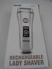 Electric Razor for Women,Hizek Lady Shaver Wet and Dry Rechargeable (B3)