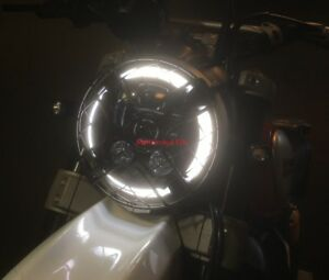 LED Headlight - Ducati Scrambler ..... Better than HID