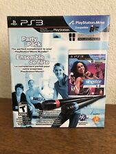 PS3 Playstation Party Pack Singstar + Dance W/ Microphones NEW