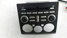 2006 MITSUBISHI GALANT RADIO CONTROL FACE PLATE BLACK 8002A247HC WITH RADIO MP3