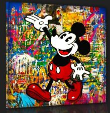 Mickey Mouse Pop Comic Modern art Contemporary Mr. Brainwash Bild 100x100 Top