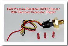6.0L 2005-2010 Ford Diesel EBP Sensor EGR Exhaust Back Pressure With Connector