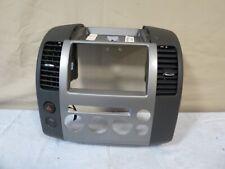 ✅ 05 06 07 Nissan Pathfinder Instrument Panel Radio Climate Bezel w/ Vents OEM