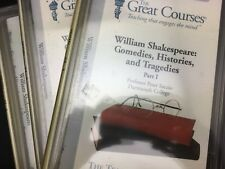 WILLIAM SHAKESPEARE: COMEDIES HISTORIES TRAGEDIES Teaching Company Great Courses