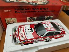 """1:18 KYOSHO FERRARI 365 GTB4 Competizione Daytona #39 """"THOMSON"""""""