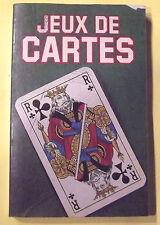 Ancien livre jeu de cartes 1981