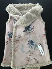 BB Dakota Women's Reversible Floral Faux Vest. From Nordstrom Size MEDIUM. NWT.
