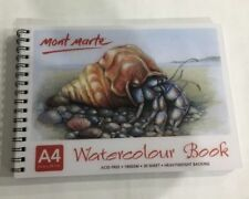 New Mont Marte Watercolour Book A4 30 Sheet 190gsm New Drawing Painting Art Supp