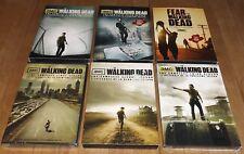 The Walking Dead seasons 1 2 3 4 5 + Fear The Walking Dead dvd - 5 of 6 are NEW