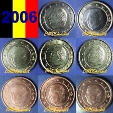 Pièces euro de Belgique année 2006