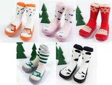 Baby/Toddler Moccasin Sock Slipper Tube Sock & Shoe w/ Anti-Slip Sole *Last 2*