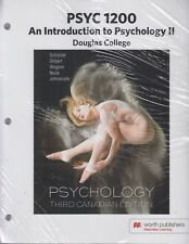PSYC 1200 Intro to Psychology II Douglas College 3rd Edition 9781319096625