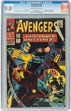 The Avengers #29 (Jun 1966, Marvel Comics) CGC 9.0 VF/NM | Swordsman,Black Widow