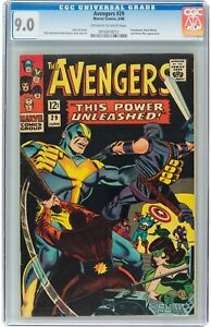 The Avengers #29 (Jun 1966, Marvel Comics) CGC 9.0 VF/NM | Swordsman,Black Widow