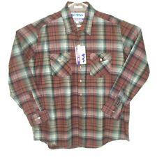 NWT Himalaya Tall 2XLT Red Plaid Long Sleeve Button Up Shirt