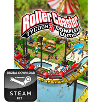 ROLLERCOASTER TYCOON 3 COMPLETE EDITION PC AND MAC STEAM KEY