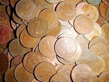 50 QUEEN ELIZABETH II HALF PENNIES 1/2D  bulk bundle