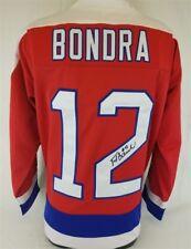 Peter Bondra Signed Washington Capitals Jersey (JSA COA) 500 Goal Scorer
