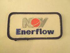 NOV Enerflow (National Oilwell Varco) Company Logo Iron On Patch