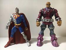 DC UNIVERSE CLASSICS 6'' CYBORG SUPERMAN AND MONGUL 2 PACK