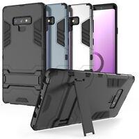 Samsung Galaxy Note 9 Schutz Hülle Heavy Duty Armour Robust Stand Handy Case