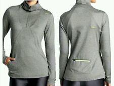 NWT $75 ASICS Thermopolis Heather Grey 1/2 Zip Pullover XL