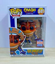 Funko Pop! Games #841 Crash Bandicoot in Mask Armor 2021 Summer Sdcc Exclusive