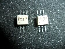 Tt15 1 Surface Mount Rf Transformer 50 Ohm 0075 To 500 Mhz Lot Of 2