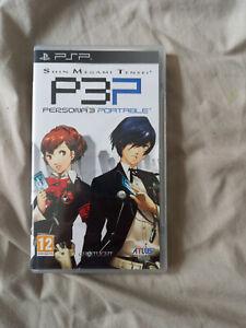 Shin Megami Tensei Persona 3 Portable Sony PSP UK PAL Complete