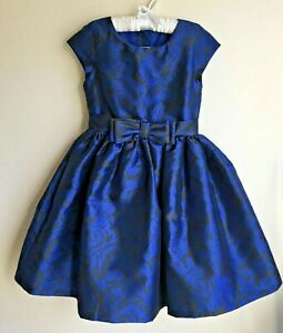 NWT Gymboree Size 5 or 8 Best In Blue Roses Floral dress Christmas Holiday