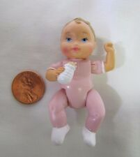New! FISHER PRICE Loving Family Dollhouse BABY GIRL INFANT DOLL in PINK Twin