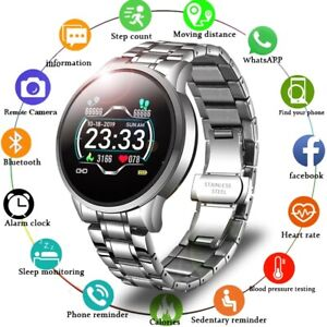 new fashion trendy smart watch heart rate blood pressure information reminder