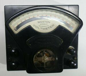 Weston Direct Current Voltmeter Model 1