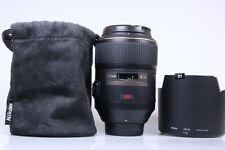 Nikon 105mm F/2.8 G AF-S VR Micro Lens.