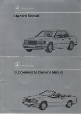 MERCEDES W124 Owner´s Manual 1994 CABRIOLET Handbook Handbuch E-KLASSE BA