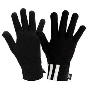 Adidas 3-Stripes Knit Gloves Winter Sportswear Running Sports Outdoor DZ4561