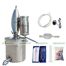 25L Stainless Alcohol Alembic Distiller Barware Champagne Beer Still Wine Making