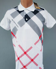 Burberry Brit Polo Shirt Cotton Men's S XL XXL Available New Blue Black White